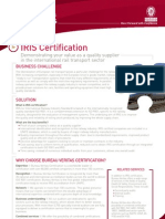 IRIS Certification BD