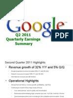 2011Q2 Google Earnings Slides