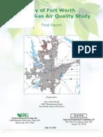 Air Quality Study Final