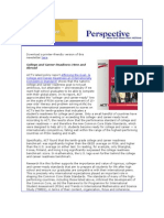 Achieve's May 2011 Perspective Newsletter