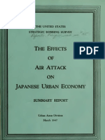 USSBS Report 55,The Effects of Air Attack on Japanese Urban Economy, Summary Report, 1947, OCR