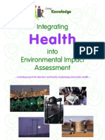 Integrating Health into Environmental Impact Assessment