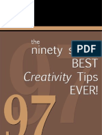 Best Creativity Tips Ever