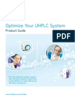 Optimize your UHPLC System Product Guide