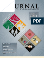 U.S. Army Journal of Installation Management, Summer 2011