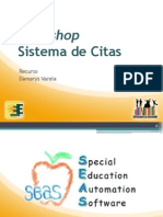 Workshop - Sistema de Citas I