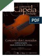 Concerto Laureados 2011