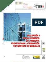 Creatividad y Clima Laboral