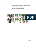 Code de justice militaire