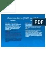 5 Quinhentismo (1500