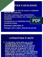 1 Literatura e Realidade. Palestra de lançamento do livro Fé Arma Poderosa
