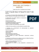 Tarea No. 08 Cuaderno Del Dictamen y Anexos