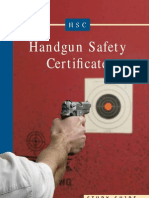 Handgun Safety Certificate Handbook