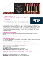 Estee Lauder PureColor Lipstick Product PR