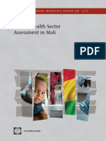 Private Health Sector Assessment in Mali