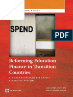 Reforming Education Finance in Transition Countries