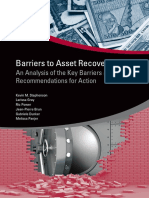 Barriers to Asset Recovery