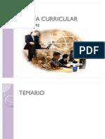 TEORÍA CURRICULAR