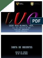 Junta de Docentes Ive Rio Blanco