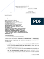20110715 Notice of Motion for Recusal Signed
