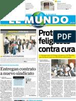Portada El Mundo de Tecamachalco 14jul2011