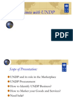 Doing Business With UNDP