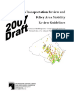 Local Area Transportation Review and Policy Area Mobility Review