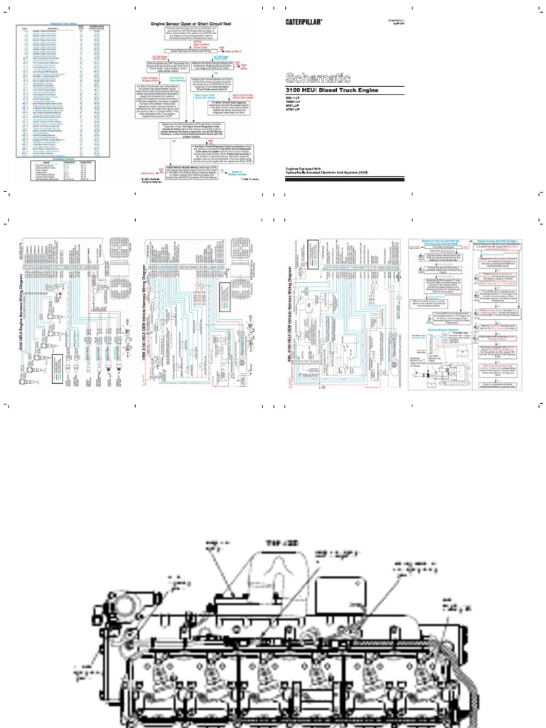 Cat 3126 Wiring Diagram Vehicle Speed Custom Arctic Panther Eletric Diagrama Fuel Injection Turbocharger Rh Es Scribd Com C15 1990 Jag 440 Ignition