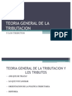 Teoria General de La Tributacion