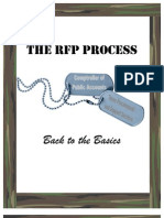 RFP Process Workbook