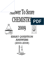 Essay Question Answers