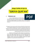 Program Tahfidz Quran Griya Quran