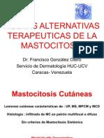Nuevas Alternativas Terapeuticas de La Mastocitosis