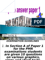 Tips on Answering Paper 1