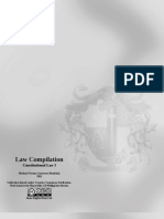 Law Compilation, Consti 1, Chapter 4 Syllabus (2011)