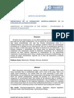 IMPORTANCIA DE LA INTERACCIÓN GENÉTICA-AMBIENTE EN LA ETIOLOGÍA DE LAS MALOCLUSIONES