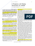 Robust Frequency and Timing Synchronization for OFDM_Timothy M. Schmidl