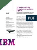 IBM TS7610 PortecTIER Deduplication Appliance Overview_TSD03107USEN
