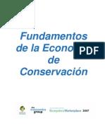 Fundamentos de La Economia de Conservacion CEB Span Oct 07