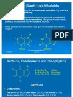 Purine Alkaloids