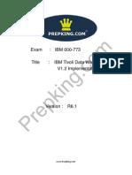 Prepking 000-773 Exam Questions