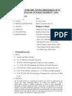Plan Lector Primaria 2010