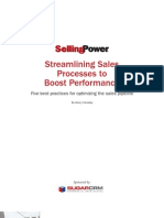Streamlining Sales With SugarCRM