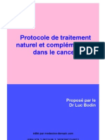 LIVRET Traitements Naturels Dans Le Cancer