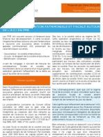 Conseil d'Optimisation Patrimoniale Et Fiscale Autour de l'ADI en PME
