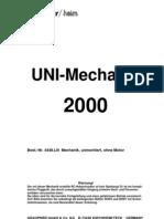uni mechanik 2000 Graupner