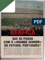 Benfica por Vítor Serpa - Maio de 1985