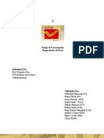 Project on Post Department of Indai