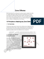 10 Principles of Attacking Zone Defenses