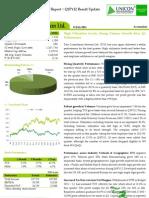 Tata Consultancy Services Ltd. - Q1FY12 Result Update